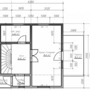 план 1 этаж ТП13
