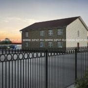 дом из сип панелей 363 м²