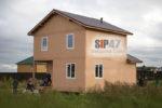 Закончен монтаж СИП-дома по типовому проекту № 47