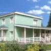 Дом из СМЛ-СИП-панелей 196 м², 13х13