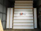 Доставка СИП- панелей в деревню Коркино
