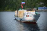 Доставка СИП- домокомплекта из Комбо- СИП- панелей на остров в Белом море