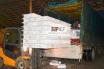 Отгрузка комплекта СМЛ-СИП- панелей и пиломатериалов в посёлок Ульяновка