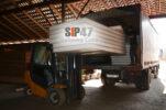 Отгрузка СИП- панелей 2500х1250х118 мм в Ропшу