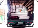 Доставка СИП- панелей и пиломатериалов в посёлок Стрельна