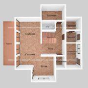 Планировка 1 этажа тп5