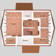 Планировка 2 этажа тп5