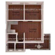 Планировка 1 этажа тп14