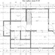 Планировка 1 этажа тп8
