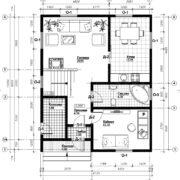 план 1 этаж ТП1