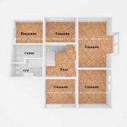 Планировка 2 этажа тп3