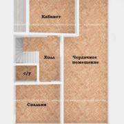 Планировка 3 этажа тп3