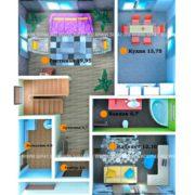 Планировка 1 этажа тп1