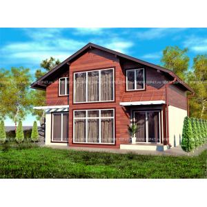 дом из сип панелей 154 м2