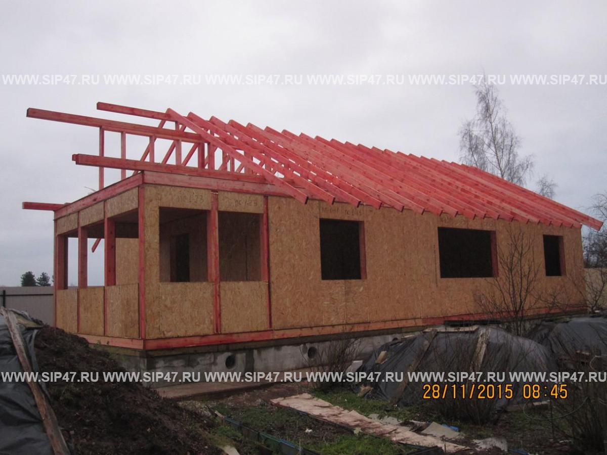 Дома эконом-класса из СИП|SIP - панелей
