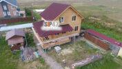 Дом из сип панелей с верандой