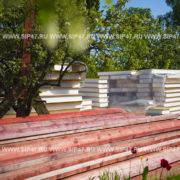 Начало строительства дома из сип панелей