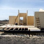 Сборка дома из сип панелей