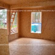 Дачный дом из СИП/SIP панелей