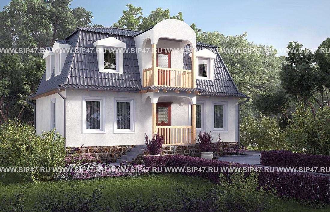 дом 7х10 двухэтажный