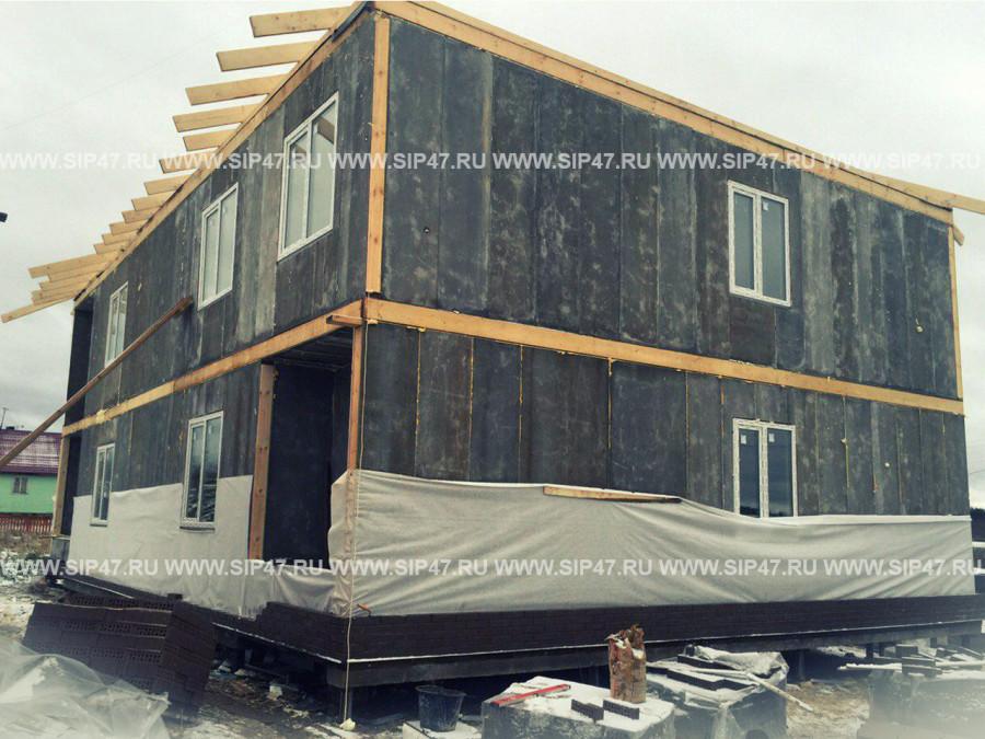 Дома из ЦСП-СИП-панелей: преимущества использования