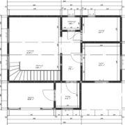 План 1 этажа ТП 24