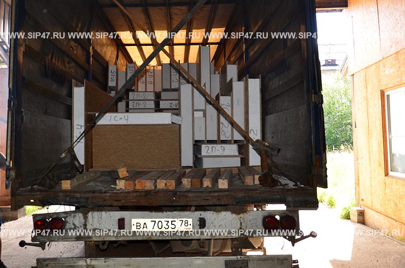 Домокомплект из сип панелей в Руссолово