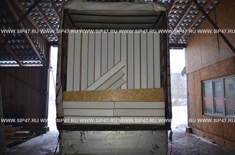 Комплект сип панелей в город Луга