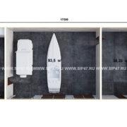 План гаража из сип панелей