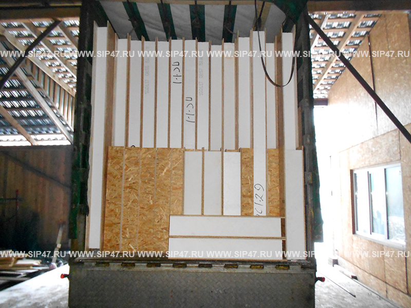 Отгружен СИП домокомплект в деревню Агалатово