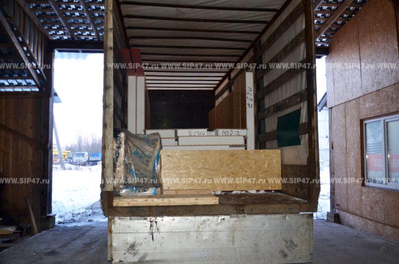 Комплект СИП панелей для пристройки к дому в Тихвин