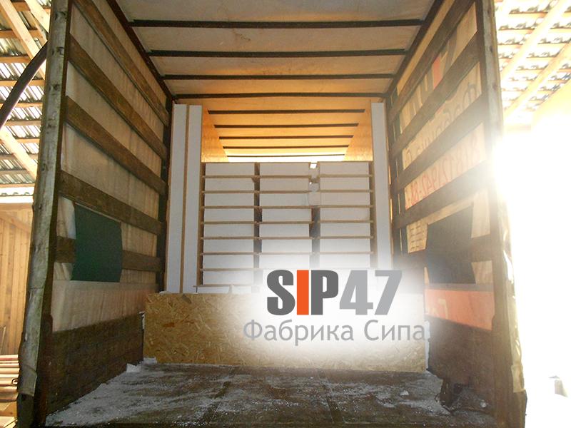 СИП - панели в Ленинградскую область город Гатчину