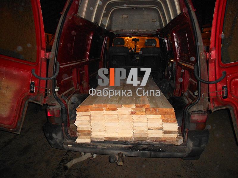 Доска пола шпунтованная в поселок Комарово