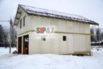 Закончили строительство коробки дома-гаража из СМЛ-СИП-панелей