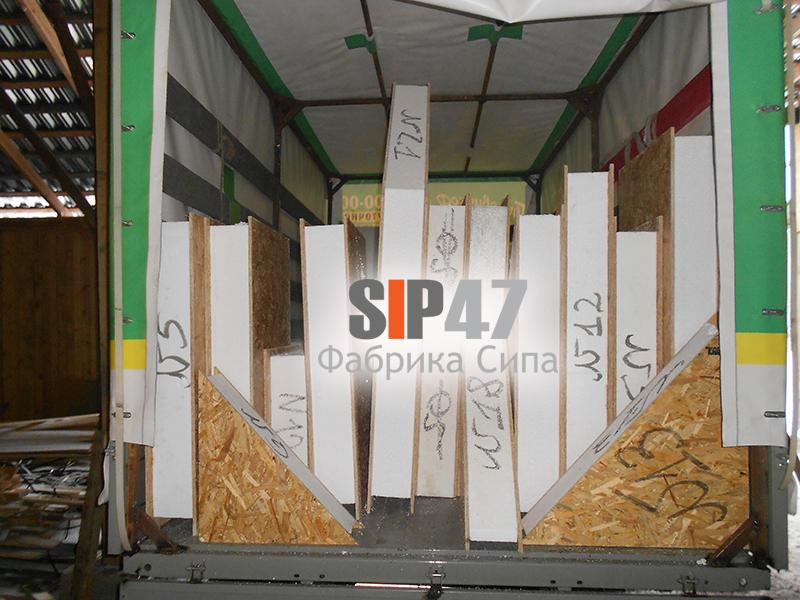 СИП панели для ремонта старой кровли в городе Сестрорецке