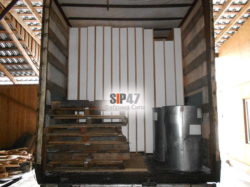 СИП-панели 2800х1250х224 мм