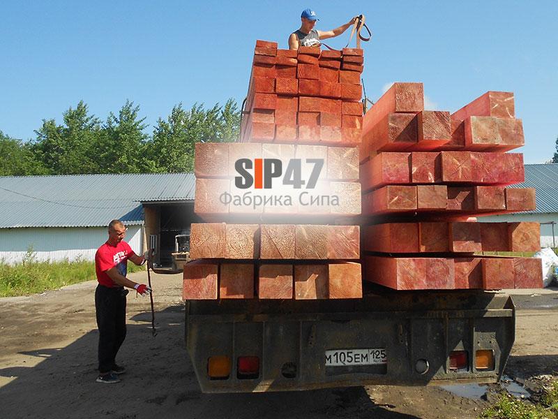 Началось строительство большого гостевого дома из СИП- панелей в деревне Низино
