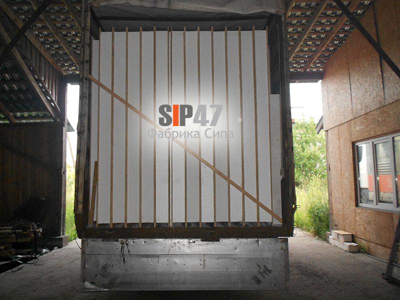 Комплект целых СИП- панелей в Сосновый бор