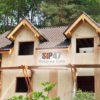 Дом из СМЛ- СИП- панелей в поселке Торковичи