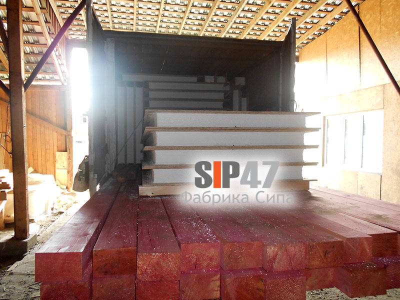 СИП- домокомплект в деревню Низино для самостоятельной сборки дома