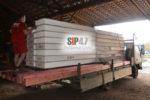СИП- панели и пиломатериал на Волхонское шоссе