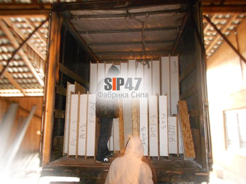СИП-домокомплект отгружен в город Орехово-Зуево