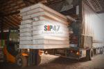 Отгружен комплект СИП- панелей и пиломатериалов для реконструкции