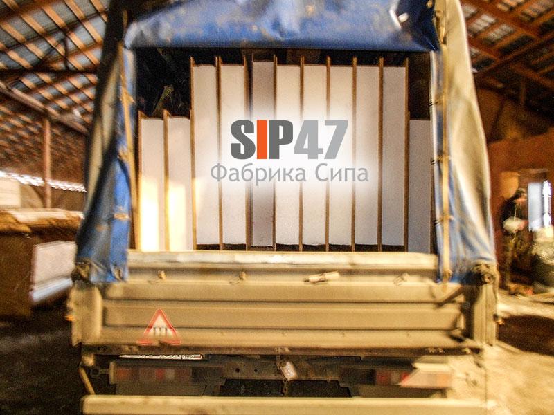 Доставка СИП панелей 2500х1250х168 мм в город Великий Новгород