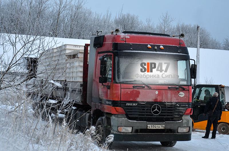 Отгружен домокомплект из СМЛ- СИП- панелей в Мяглово