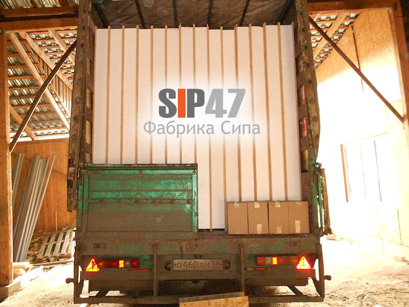Доставка СИП- панелей в город Никольское