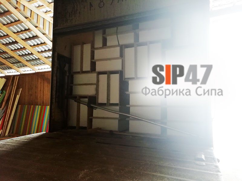 Отгружены СИП- панели 224 х 625 мм в посёлок Парголово
