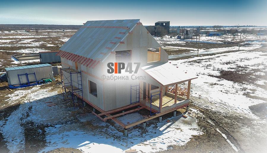 Строительство СИП- дома из огнестойких СИП- панелей