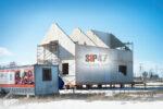 Продолжается строительство дома из огнестойких СМЛ- СИП- панелей