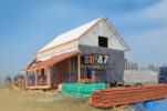 Дом из огнестойких СМЛ- СИП- панелей по проекту